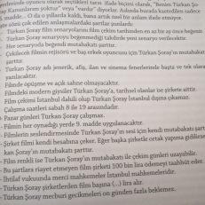 Türkan Şoray Kanunları